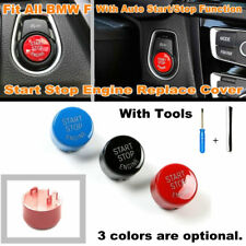 Car Engine Start Stop Button Replace Cover For BMW F20 F30 F10 F01 F48 F25 F15