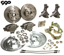 "64-72 CHEVY CHEVELLE EL CAMINO DROP 2"" LOWER DISC BRAKE KIT"