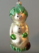 Patricia Breen Ornament Glittered 1996 Hobe Snowman Variant Long Retired