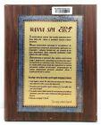 "Vintage Antique Wooden Plaque & Sign ""Wanna SPA"" For Home Decor"