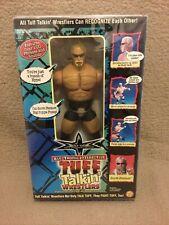 Wwe / Wcw / Wwf Mega Rare Brand New Scott Steiner Tuff Talkin Wrestling Figure!