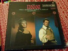 Verdi Ernani Price Bergonzi Schippers 3xLP RCA SER 5572-4 / Black Spot Label