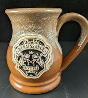 Florida Renaissance Festival Horses and Crown 2011 Brown  Drip Mug