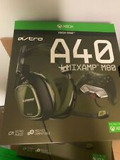 OB ASTRO Gaming A40 TR Headset + MixAmp M80 - Black/Olive - Xbox One