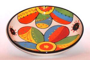 Spanish Ceramic Shallow Salad Bowl 23cm