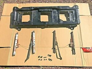 92-96 FORD F150 F250 F350  BENCH TO BUCKET oem SEAT FRAME mount bracket w/ track
