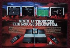 1983 Print Ad Atari 5200 Video Games Computer Super System ~ Pac Man Centipede +