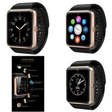 Smartwatch Unlocked Watch Cell Phone Bluetooth Apple Iphone Android Samsung Fitn
