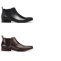 Mens Julius Marlow Kick Leather Boots Work Dress Casual Formal Comfortable Shoes