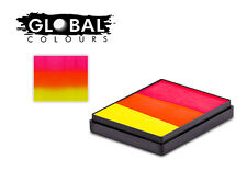Global Rainbow Cakes 50g - INDIA professional face & body paint