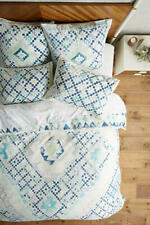 🔷 perfect gift 🔷 Anthropologie Quercus & Co. Emblem - Printed Twin Duvet Cover