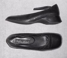 GINO VENTORI chaussures babies cuir noir P 38 TBE