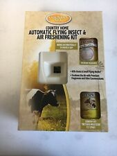 Country Vet Country Home Automatic Flying Insect Air Freshening Kit New In Box