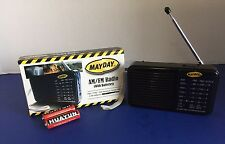 Radio am/fm with batteries earthquake survival emergency tactical Mayday prepper