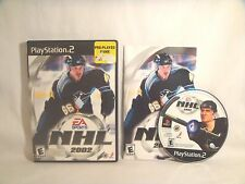 NHL 2002 (Sony PlayStation 2, 2001)  complete
