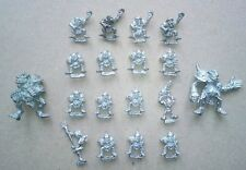 Blood Bowl - Goblin team, 2nd edition (18 players, incl. rare unreleased troll)