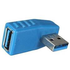 Angulo Recto 90º USB 3.0 Macho Male a USB 3.0 Hembra Female Adaptador Adapter