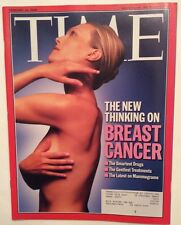 BREAST CANCER TIME MAGAZINE FEBRUARY 18 2002 VERY GOOD