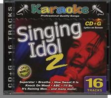 Karaoke CD+G - Singing Idol Vol 2 - New 16 Song CD! Let's Stay Together, ABC