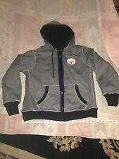 steelers winter jacket By Nfl Proline Size Xxl With A Zipper
