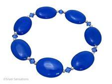 Sterling Silver Sapphire Fine Bracelets