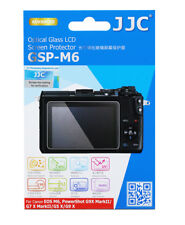 JJC Optical Glass LCD Screen Protector for CANON M6 M50 M100 G9X M2 G1X Mark III
