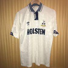 Tottenham Hotspur Home Shirt 1991-1993 Umbro Size Medium Good Condition