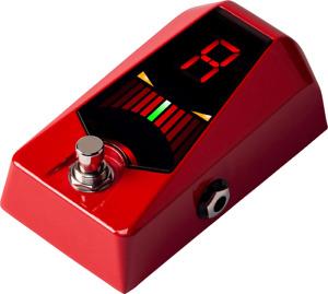 Sintonizzatore Chitarra E Bassa KORG Pitchblack Advance Rossa