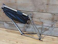 WHY CYCLES R+ Road Cyclocross Gravel Adventure 700c/650b Titanium 58cm XL Frame