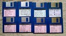 Nightwind Sounds 8 Disk Sample Library Medieval Africa Tibetan Asia ZIP disks