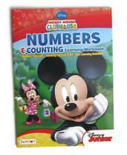 Preschool Numbers & Counting Learning Activity Workbook - NEW