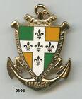 Insigne , 11 Rgt. d'Artillerie de Marine , ( Delsart )