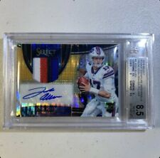 2018 Panini Select Josh Allen FOTL RPA /23 4 Color Patch BGS 8.5/10 Auto HOT 🔥