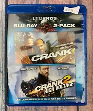 Crank and Crank 2 High Voltage New Bluray 2 Pack
