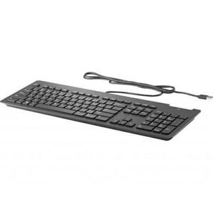 HP USB Business Slim Smartcard Keyboard - Cable Connectivity - USB Interface - K