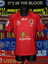 5/5 Queensland Reds adults M MINT rugby union shirt jerset trikot