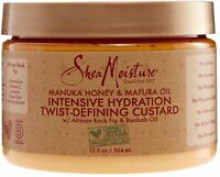 Shea Moisture Manuka Honey - Mafura Oil Hydration Twist- Defining 12 oz 2pk