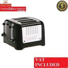 Dualit Gebürsteter Edelstahl Grau 4 Slice/Schlitz Lite Toaster DPP4