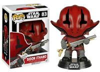 Star Wars:The Force Awakens Sidon Ithano Funko Pop Action Figure Brand New