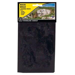 "Woodland Scenics C1239 Strata Stone Rock Mold 5 x 7"" (Reusable & Flexible) -1st"