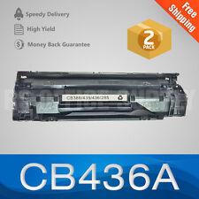 2PK CB436A 36A TONER for HP LaserJet P1505 LaserJet P1505N LaserJet M1522NF