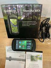 New ListingGarmin Montana 680t Handheld Gps