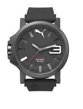 Puma Ultrasize 50 PU103911005 black Herren Armbanduhr Silikon schwarz neu