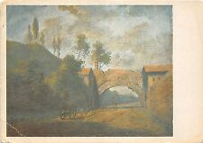 B74940 theobald michau landscape with a road under an archway  painting  art