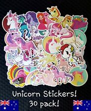 Unicorn Stickers PINK ! Girl Party Favour Lolly Loot Chart Reward School Treat