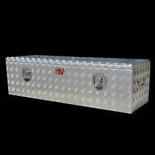 Aluminium Tool Box 1220x400x350 mm Checker Plate Ute Trailer  toolbox Rectanglec