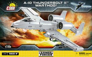 Cobi 5812 A-10 Thunderbolt II™ Warthog® Flugzeug Bausatz  568 Teile sofort li...