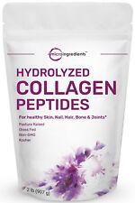 Premium Grass-Fed Collagen Peptides Powder 2 Pound Pasture Raised Non-GMO