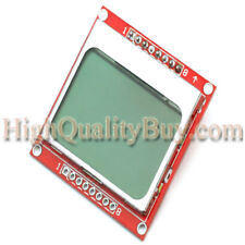 LCD Module Blue Backlight Adapter PCB For Nokia 5110 LCD Arduino High Quality