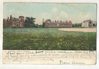 Campus, HOBART COLLEGE Geneva NY Vintage 1912 New York Postcard
